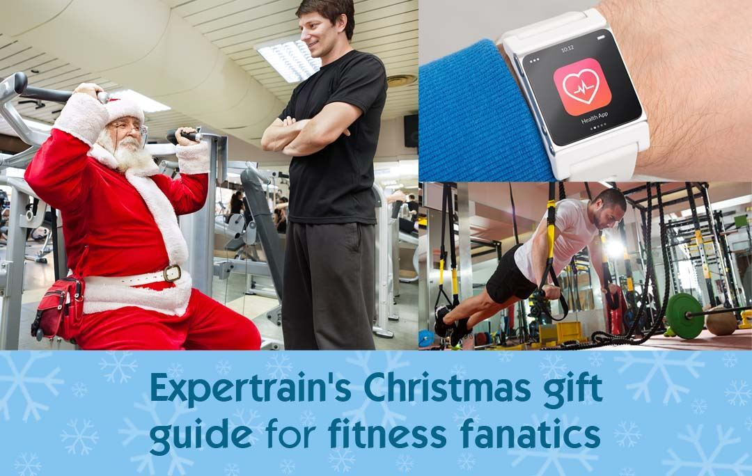 Expertrain's Christmas gift guide for fitness fanatics