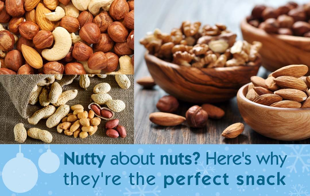 Nutty about nuts? Here's why they're the perfect snack