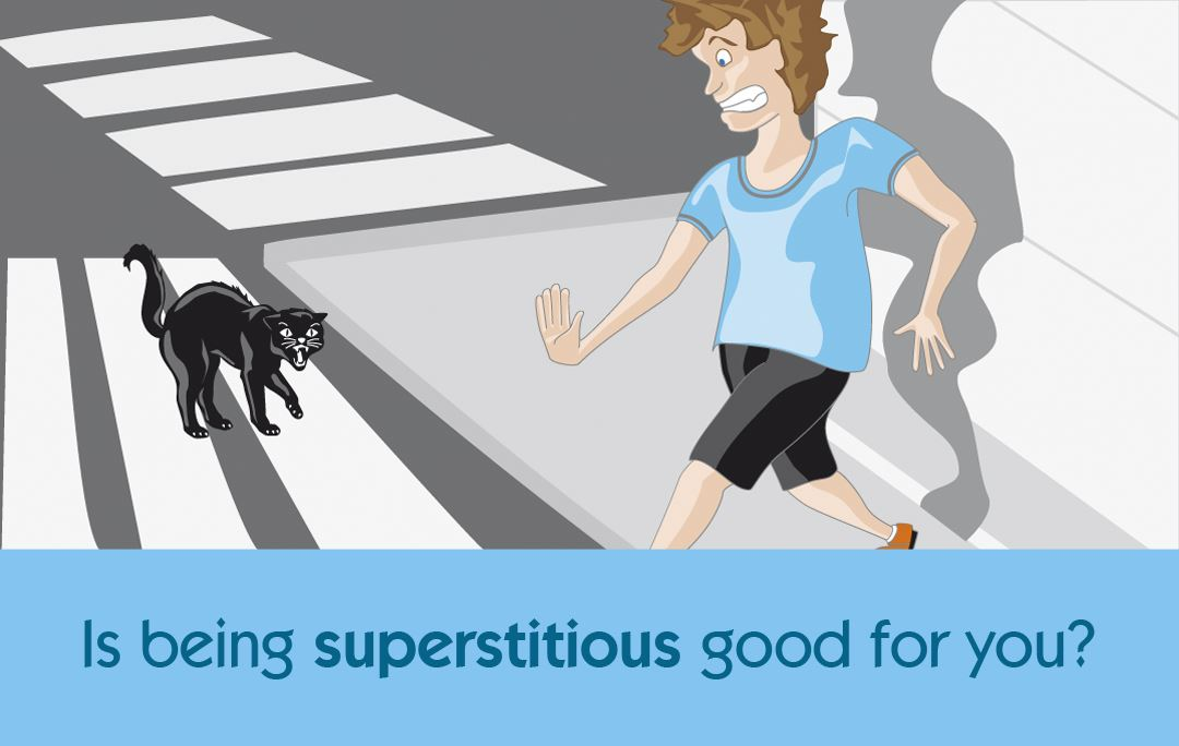 Is being superstitious good for you?