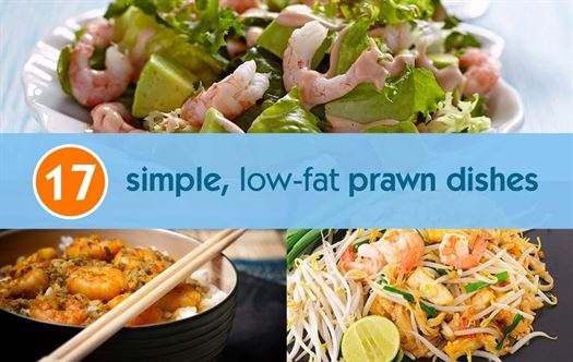 17 Simple, low-fat prawn dishes