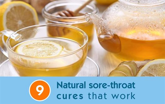 9 Natural sore-throat cures that work
