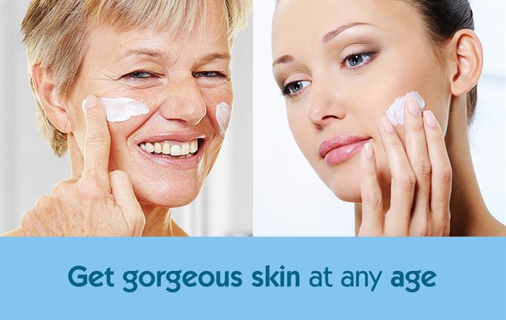 Get gorgeous skin at any age