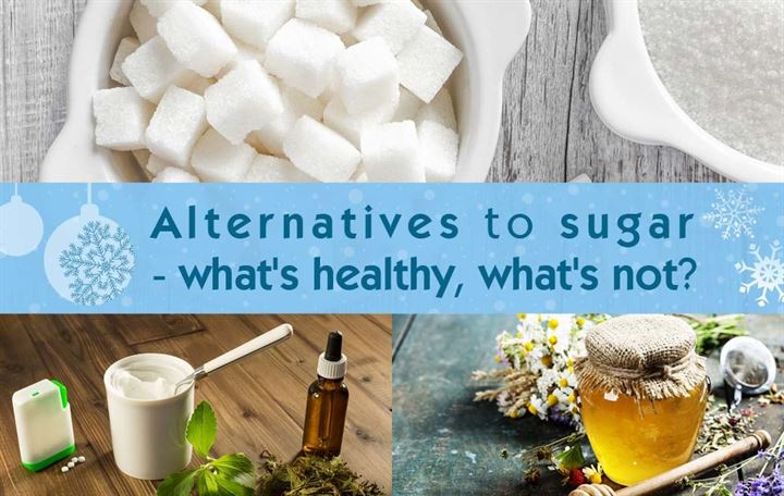 Alternatives to sugar - what's healthy, what's not?