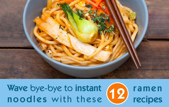 Wave bye-bye to instant noodles with these 12 ramen recipes