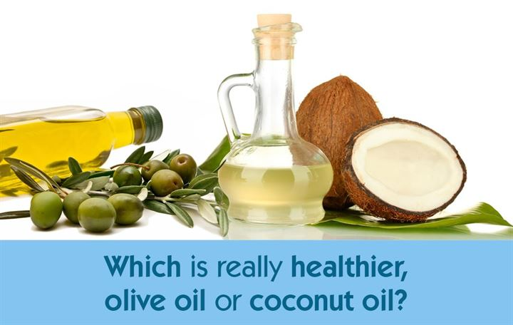 Which is really healthier, olive oil or coconut oil?