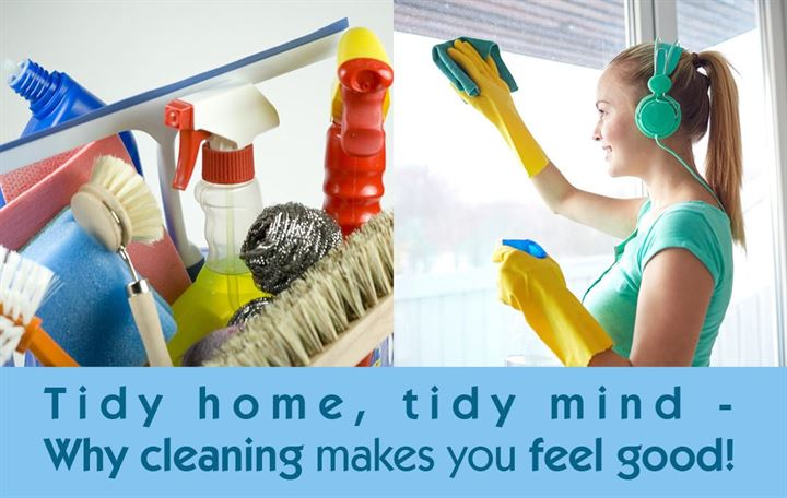 Tidy home, tidy mind - Why cleaning makes you feel good