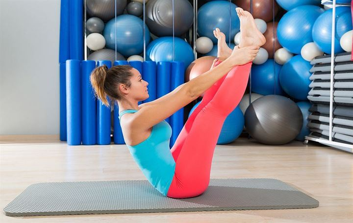 Expertrain's 15-Minute Pilates workout that anyone can do