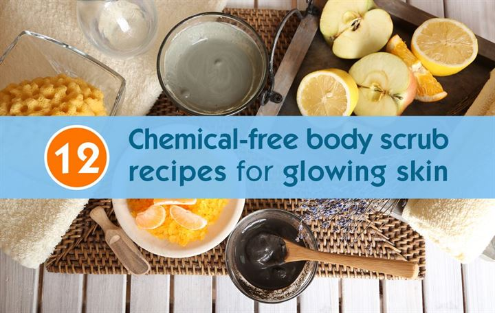 12 Chemical-free body scrub recipes for glowing skin