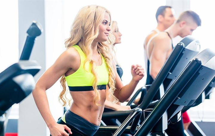 Tone up with the treadmill training trend