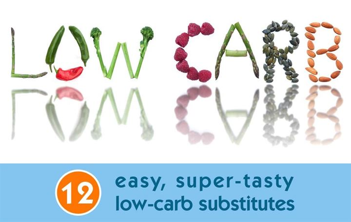 12 Easy, super-tasty low-carb substitutes