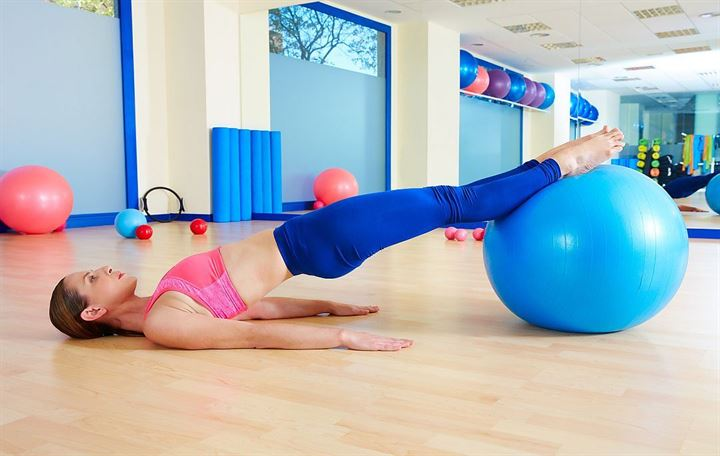 Tone up with these 21 stability ball exercises