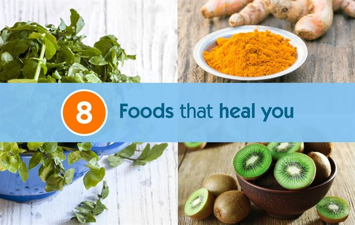 8 Foods that heal you