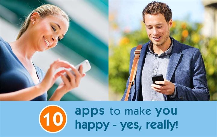 10 apps to make you happy – yes, really!