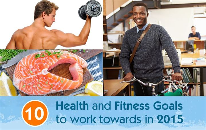 10 Health and fitness goals to work towards in 2015