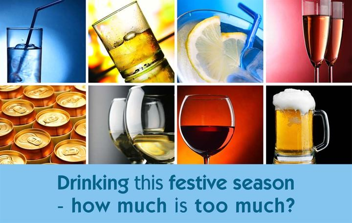 Drinking this festive season - how much is too much?