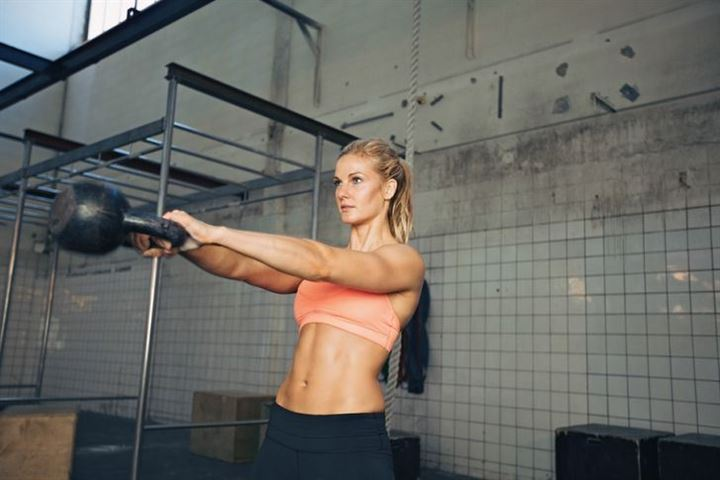 This full-body kettlebell workout is all you need