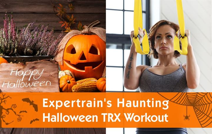 Expertrain's haunting Halloween TRX workout