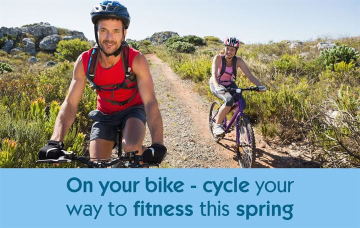 On your bike - cycle your way to fitness this spring