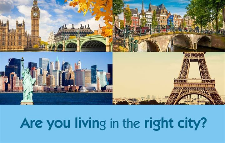 Are you living in the right city?