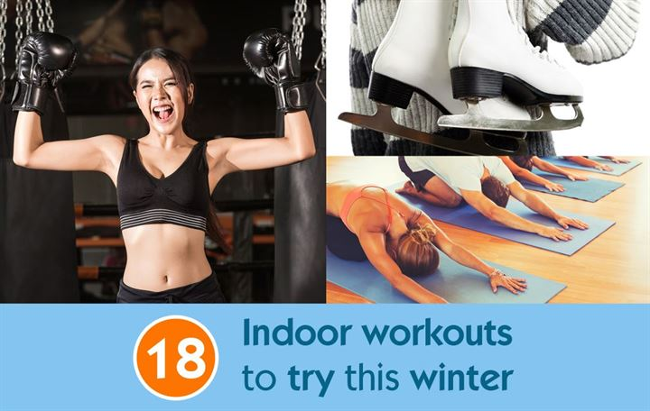 18 Indoor workouts to try this winter