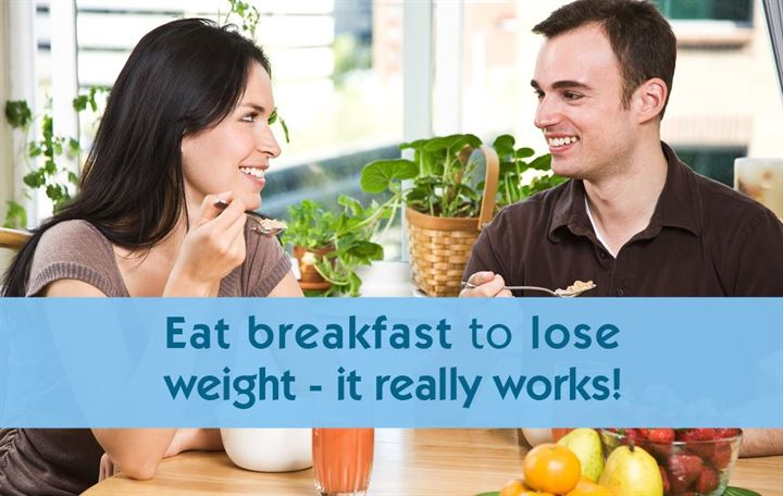Eat breakfast to lose weight - it really works!