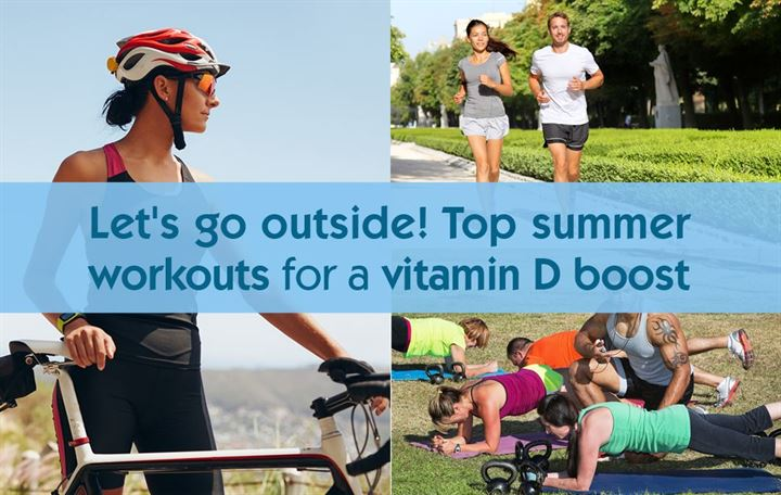 Let's go outside! Top summer workouts for a vitamin D boost