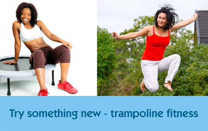 Try something new - trampoline fitness