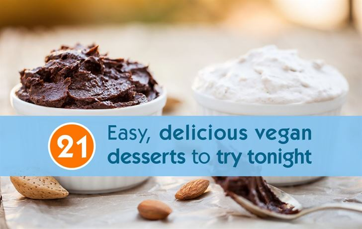 21 Easy Delicious Vegan Desserts To Enjoy Tonight