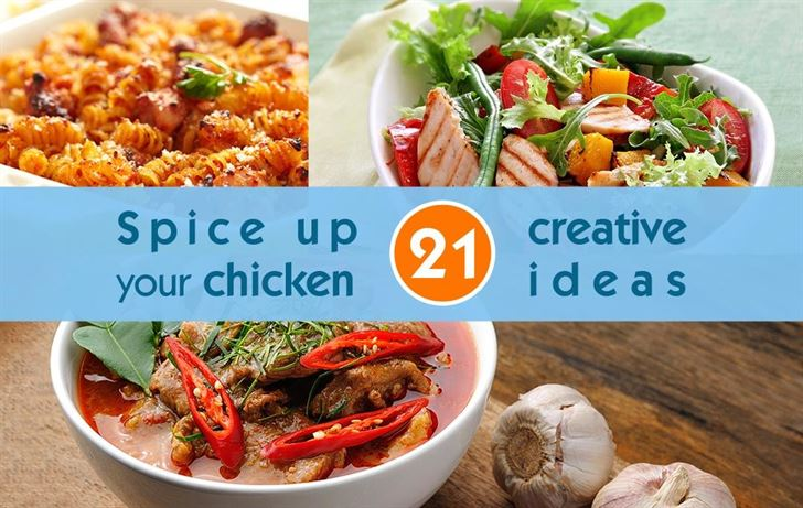 Spice up your chicken with 21 creative ideas