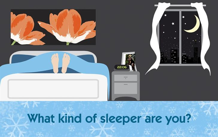 What kind of sleeper are you?