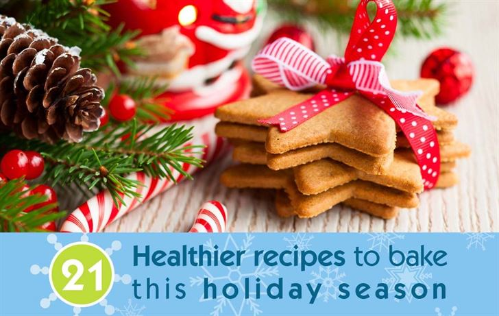 21 Healthier recipes to bake this holiday season