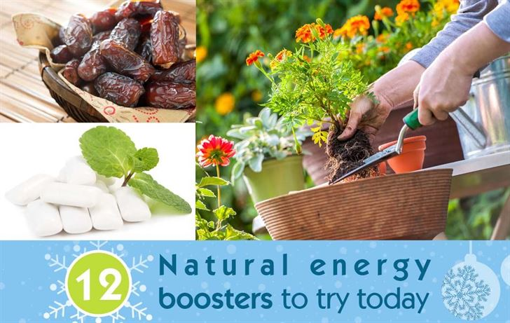 12 natural energy boosters to try today