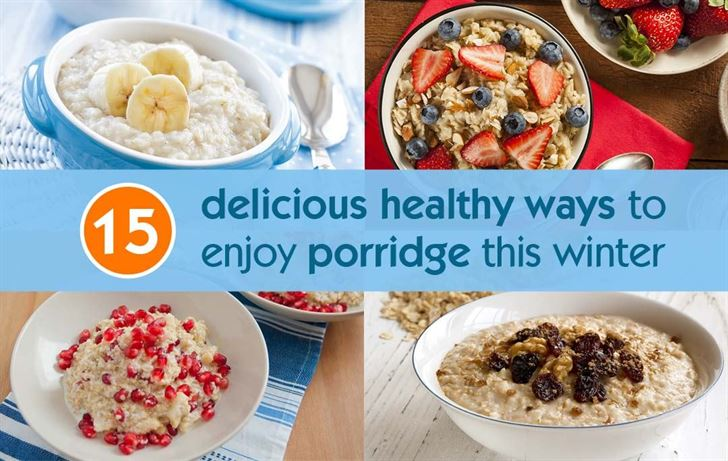 15 delicious healthy ways to enjoy porridge this winter