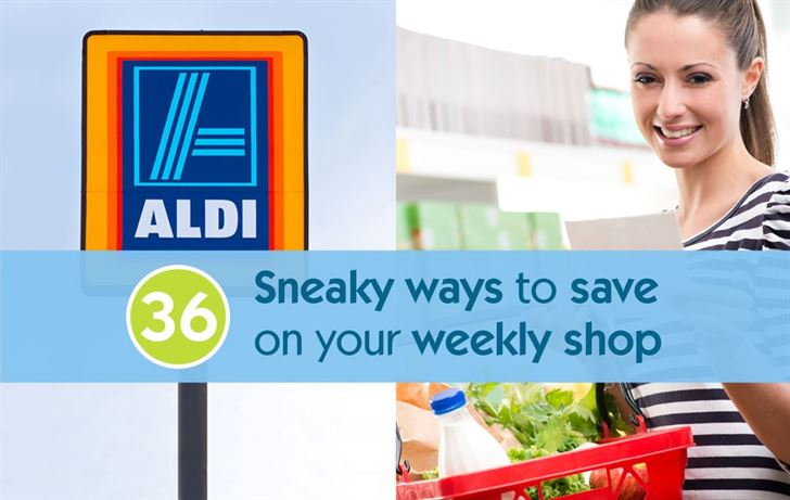 36 Sneaky ways to save on your weekly shop