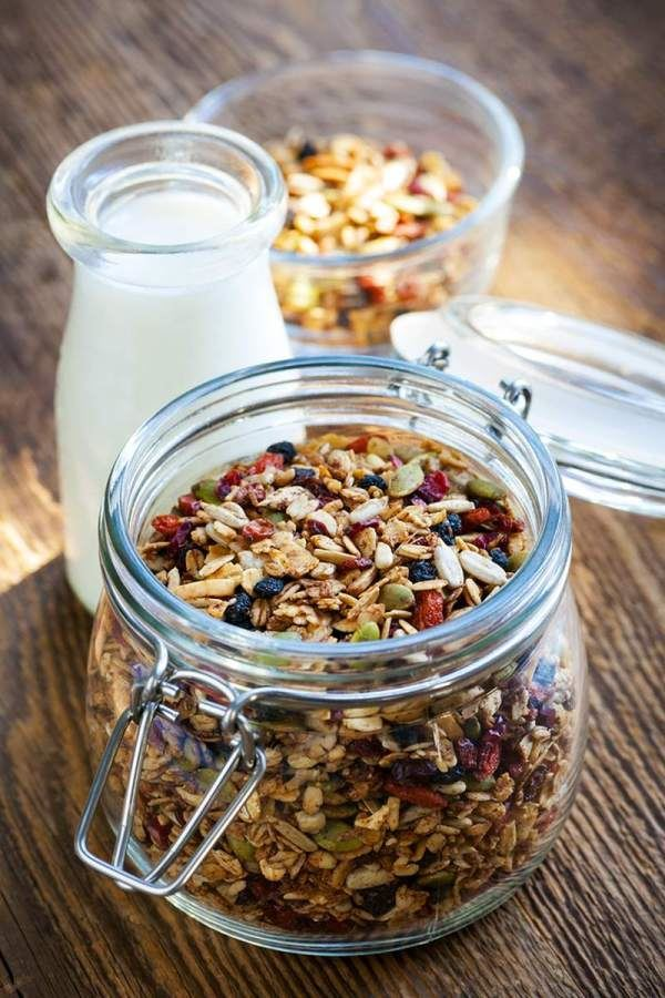 The ultimate breakfast granola
