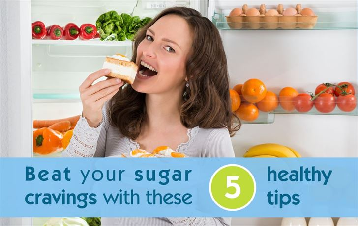 Beat your sugar cravings with these 5 healthy tips