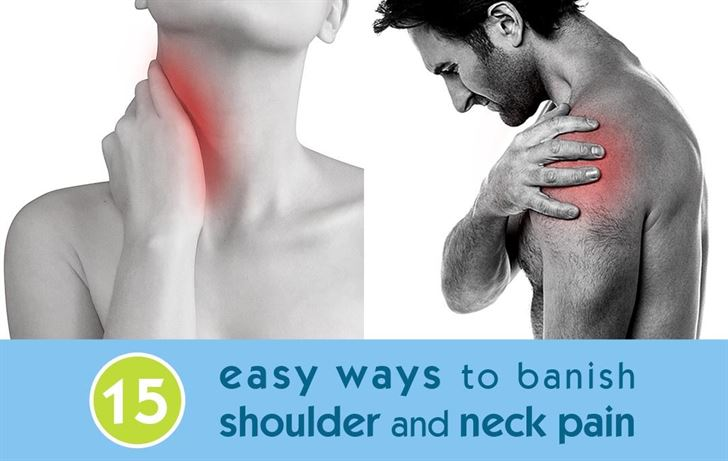 15 easy ways to banish shoulder and neck pain