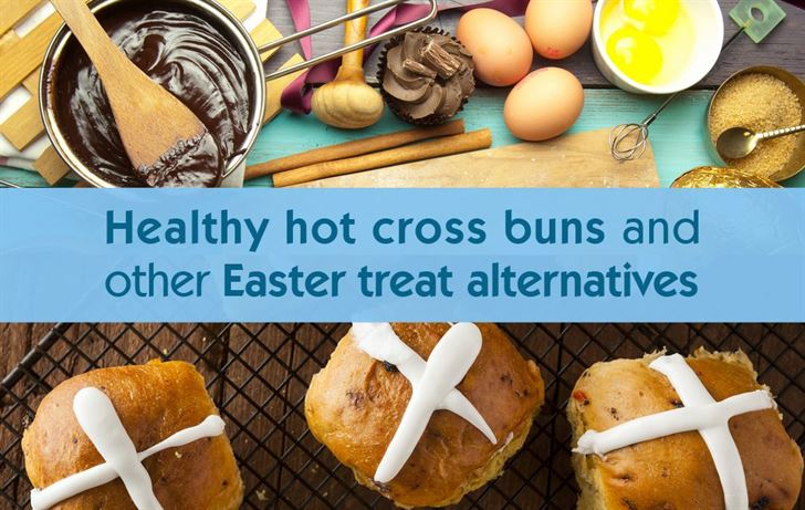 Healthy hot cross buns and other treat alternatives