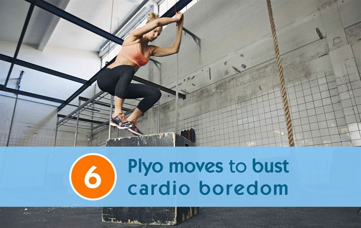 6 Plyo moves to bust cardio boredom