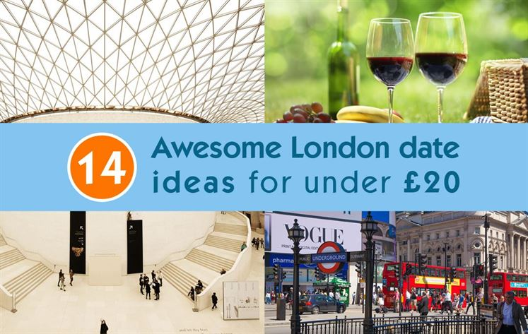 14 Awesome London date ideas for under £20
