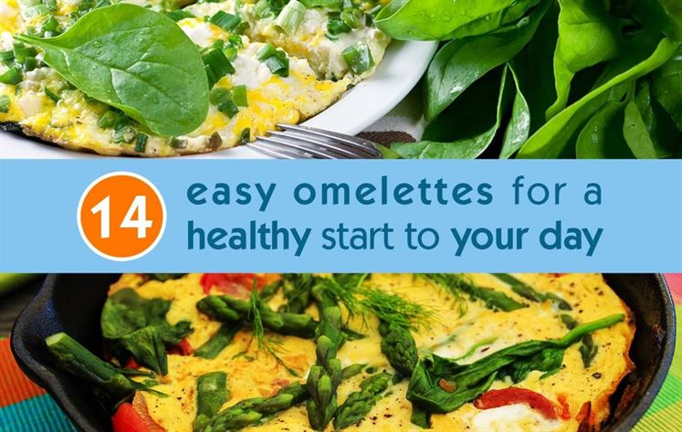 14 Easy omelettes for a healthy start to your day