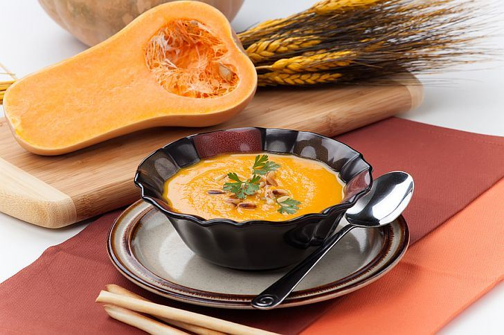 squash and roasted butternut squash roasted carrot and cumin soup ...