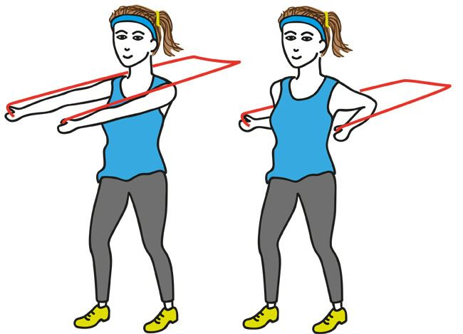 Six Feet Under Band Art: 34 Resistance Band Exercises That Can Be Done Anywhere