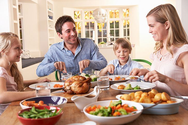 Why you need to teach your kids about healthy eating a study by scientists at the university of florida 2 revealed that eating together reduces the likelihood of obesity and makes it more likely that kids ccuart Image collections