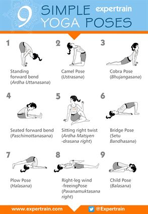 9 Simple Yoga Poses
